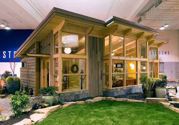 Seattle 39 s timber frame fabcab for One bedroom home kits