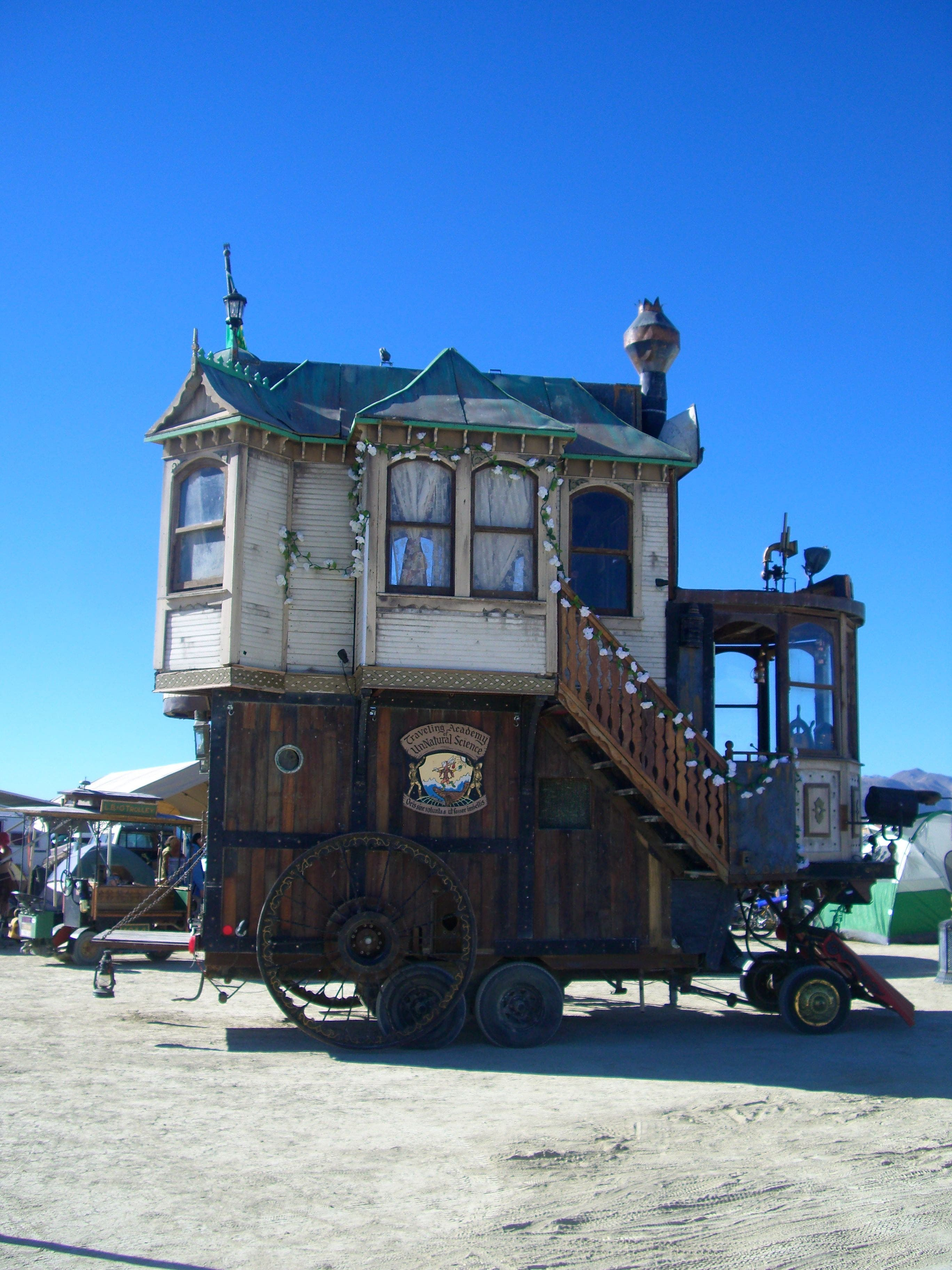 The Tiny Houses Of Black Rock City Metropolis Housevariety