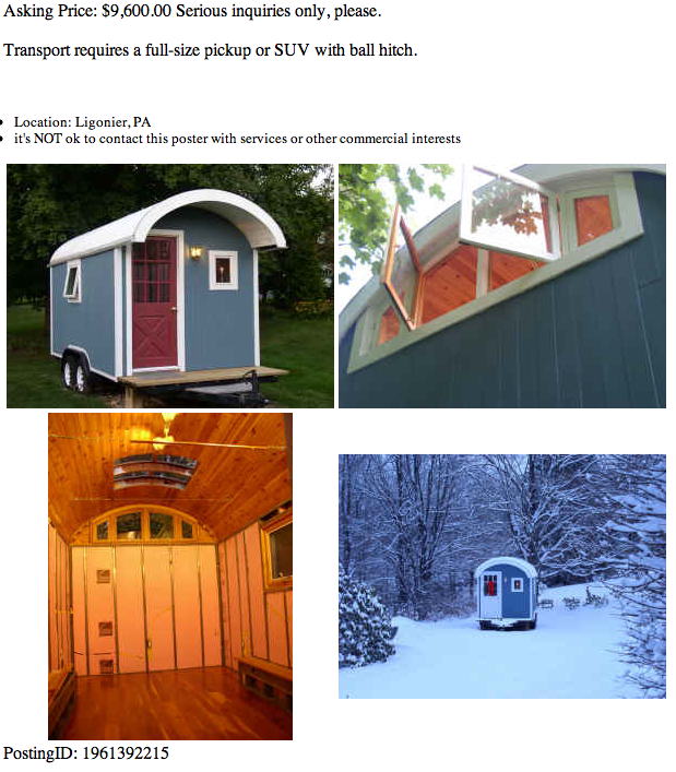 Craigslist Houses For Rent Back: The Eclipse Gypsy Caravan