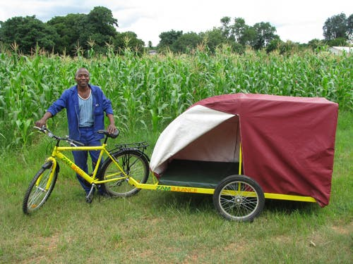 Simple Tiny Trailer Pulled By Bicycle Rider May Really Be The Smallest Home