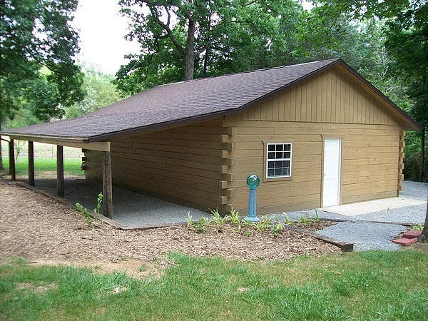 How to build a small log cabin for How to build a cottage