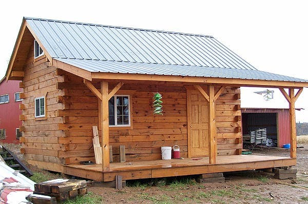 Jon 39 s cabin in wisconsin for Home builders wisconsin