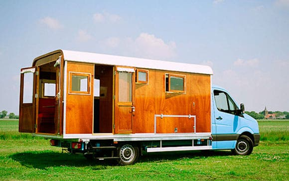 unusual tiny rvs.  Tonke Campers