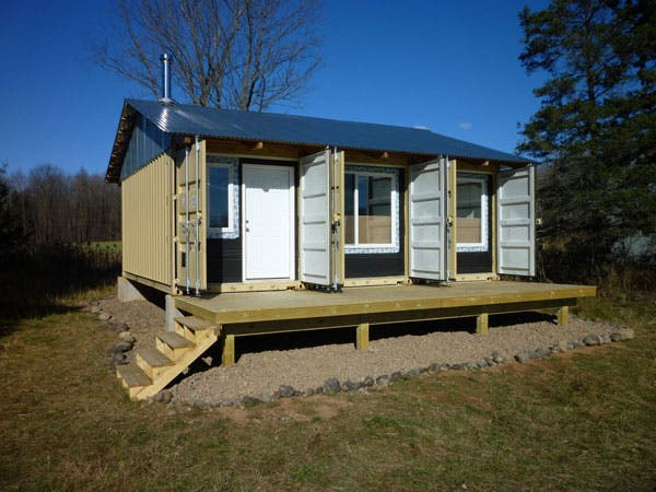 Steve 39 S Shipping Container Cabin