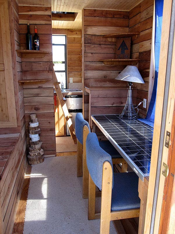 tumbleweed homes interior tiny house powered by solman mobile solar generator 15225