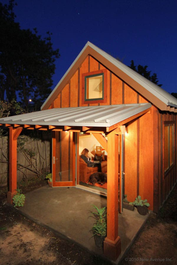 Berkeley backyard cottage open house for Small backyard cabin