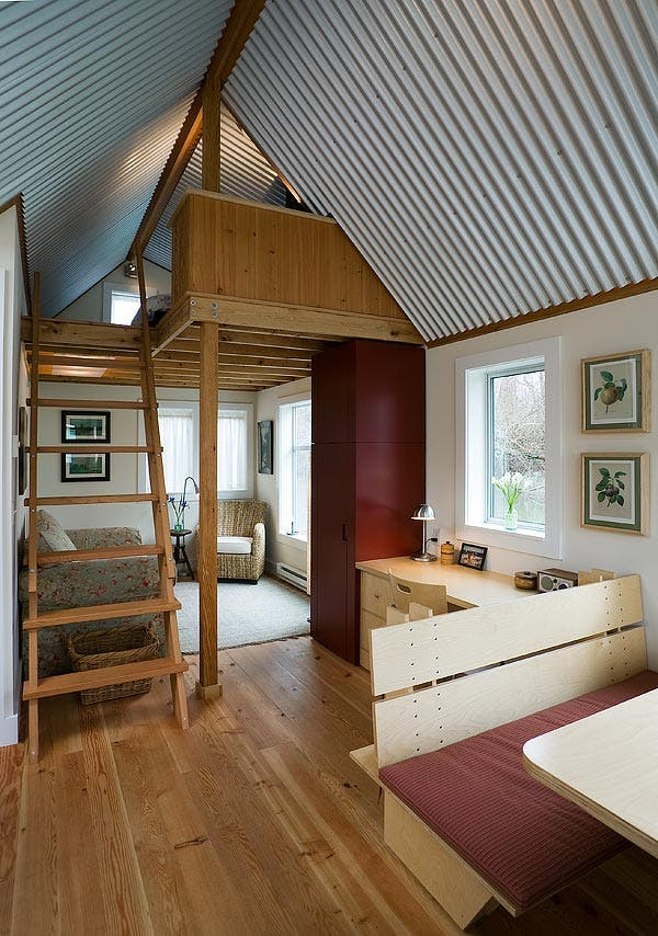 Floating guest house House interior design for small houses