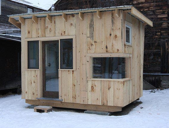 Inexpensive tiny house