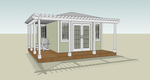 Small key west style home plans