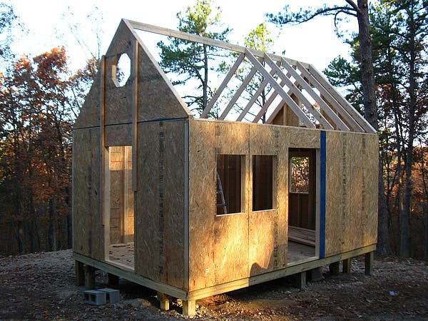 Pine Top Tiny House 12 X 18 Lofted Cabin In The Ozarks