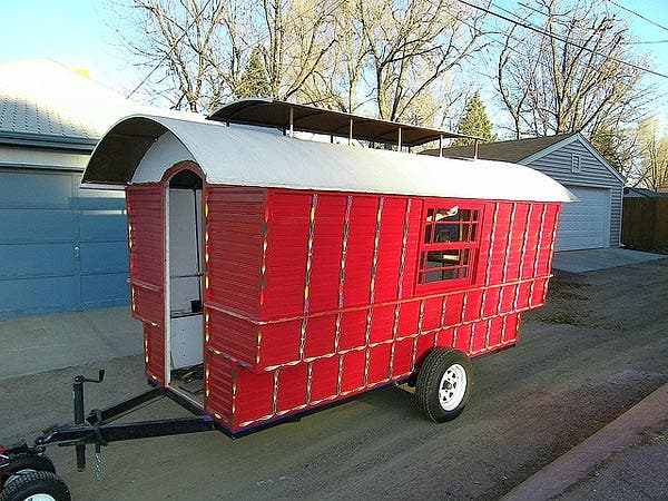 Towable Gypsy Wagon