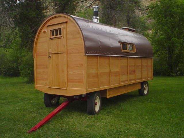 Sheep Wagon Home Design Ideas