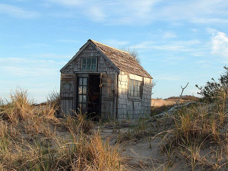 Tiny House in a Landscape