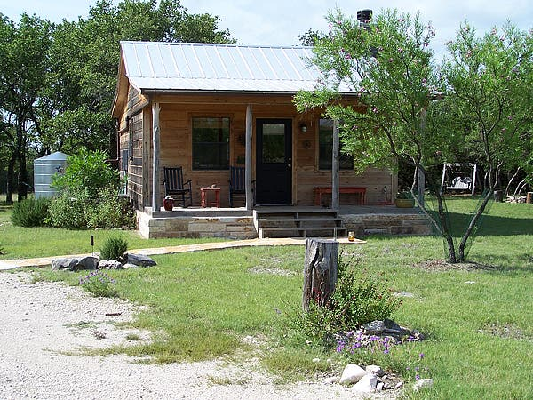 Hill Country Texas Cabin
