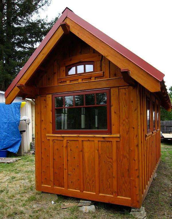 Tumbleweed Box Bungalow Open House - B53 tumbleweed house