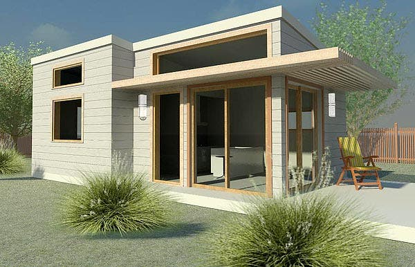 500 sq ft new avenue home modern tiny home with 7 for The new small house