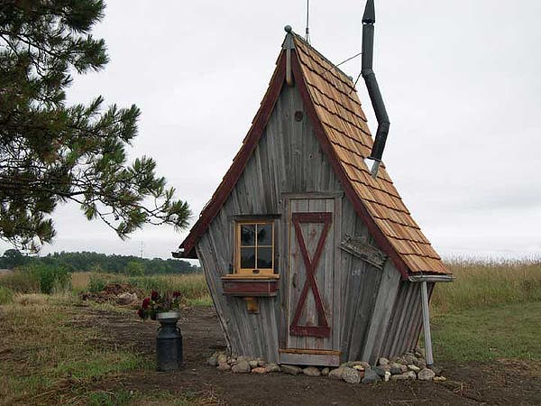 Rustic way whimsical house for Cottage homes to build