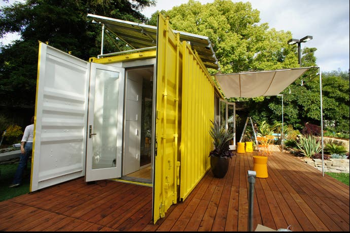 Cargotecture by hybrid architecture for Pre built shipping container homes