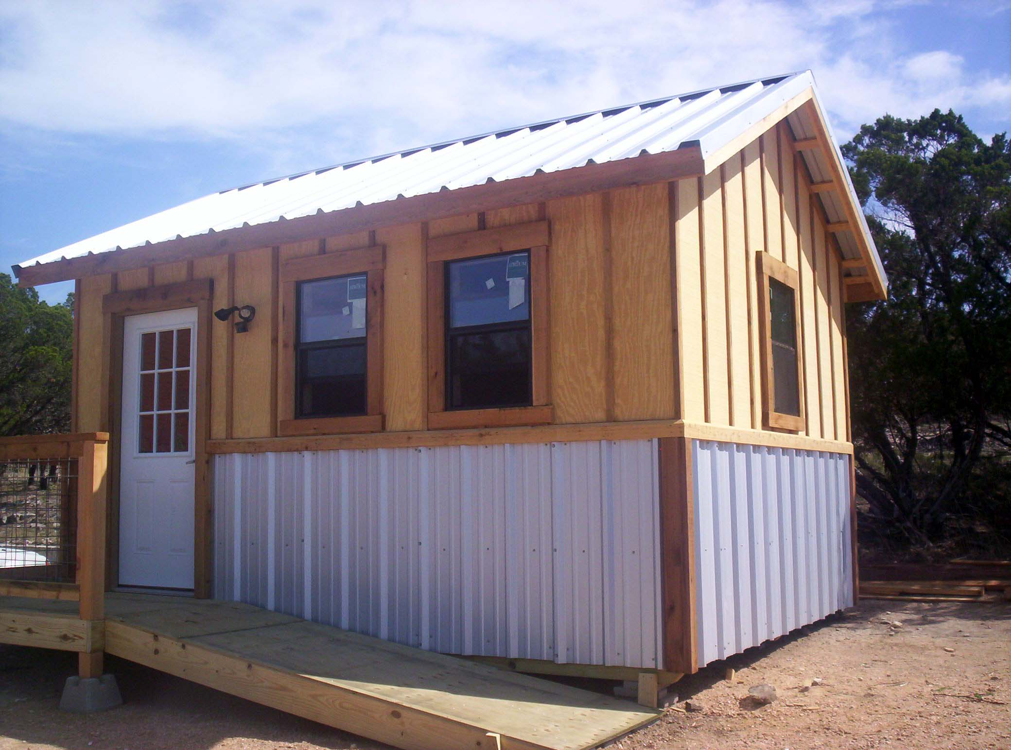 Buildzing for Tiny homes on foundations