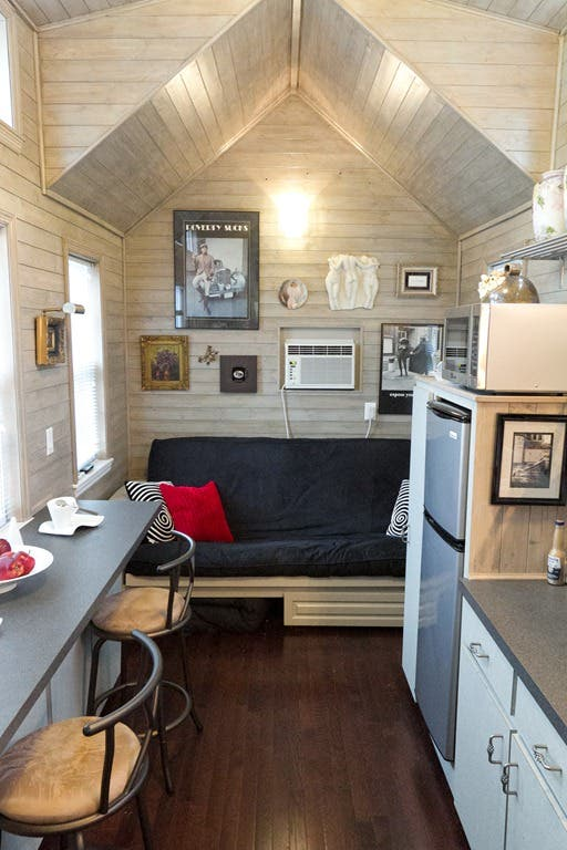 jay shafer is popular for his loft based tiny homes on wheels - Mini Houses On Wheels
