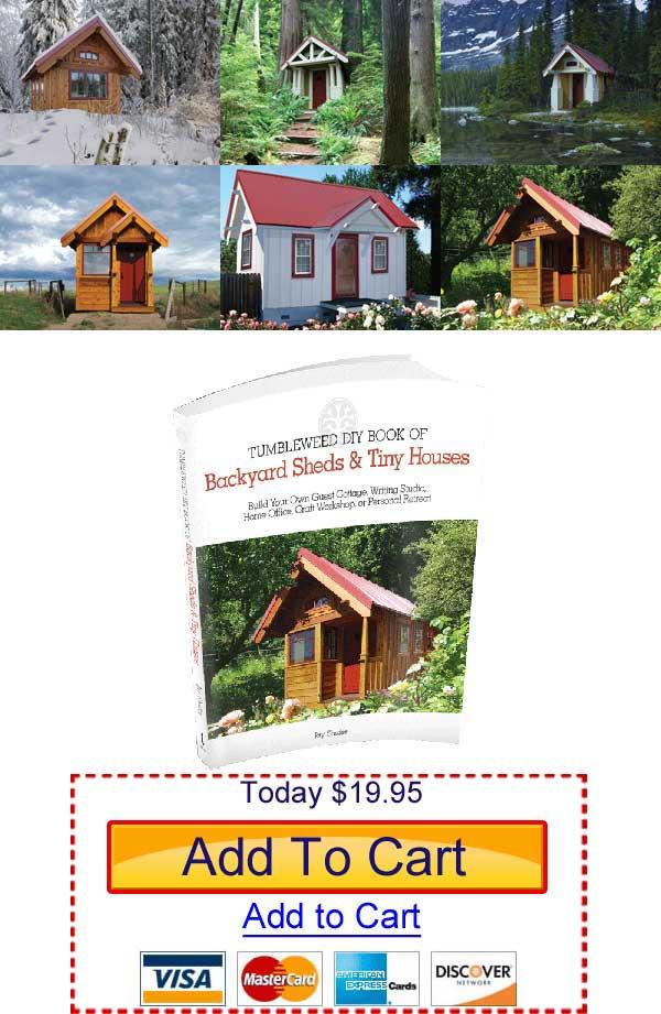 Today I Received From Tumbleweed Tiny House Company, Jay Shaferu0027s Latest  Book Called Tumbleweed DIY Book Of Backyard Sheds U0026 Tiny Houses.