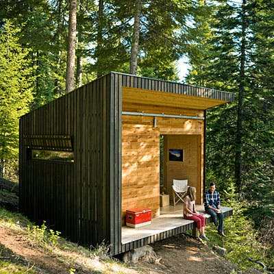 Mariah Grew Up In An Off Grid Home In Rural Oregon And Is Not Bothered By  The Lack Of Running Water Or The Portable Toilet. The Couple Heat Up Water  On The ...
