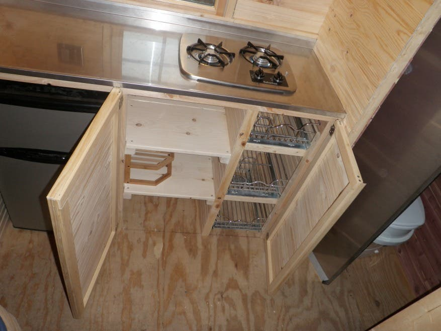 Built by Friends Evan and Gabbies Tiny House