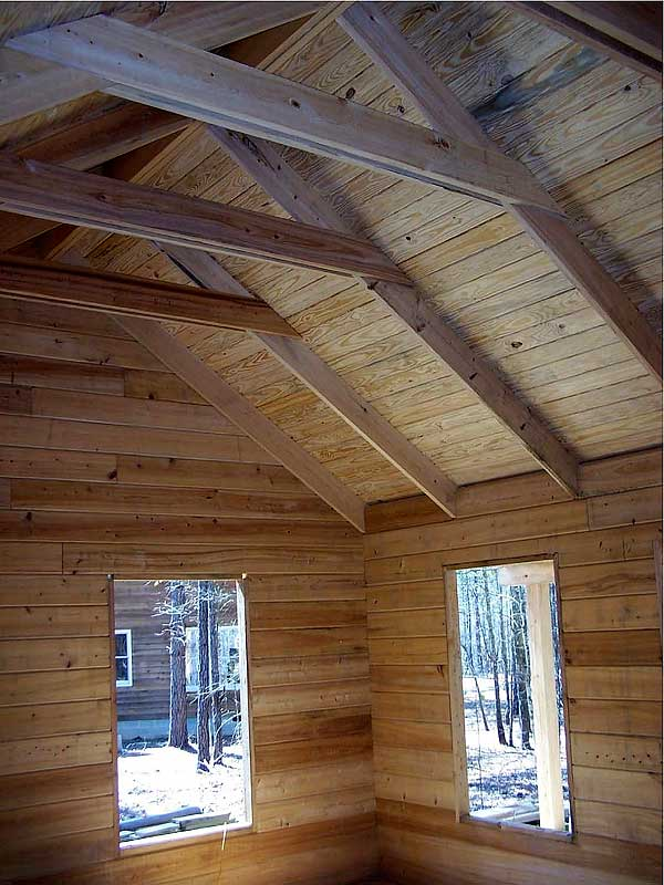 gable log homes sportin cabin