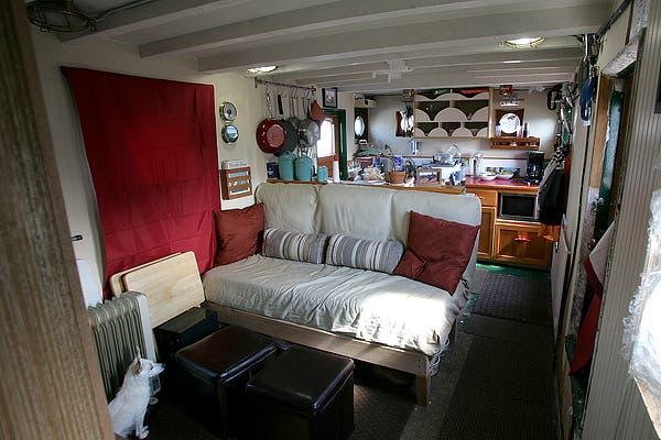 Tugboat Tiny House
