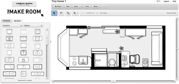 tiny house layout