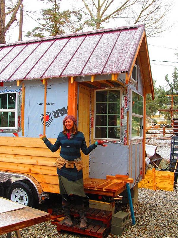 ella's tiny house story, ella jenkins small house, ella jenkins tiny house