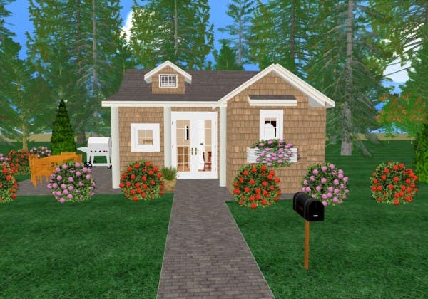 Cozy home plans for Cozy cottage plans