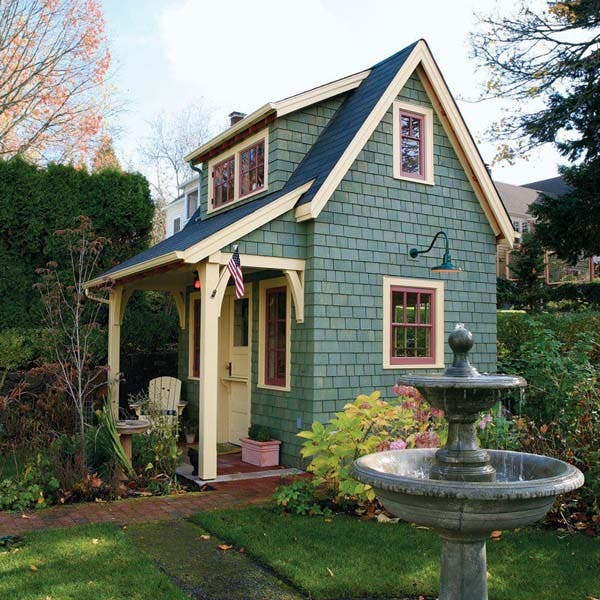 Old time garden shed for Cute small homes