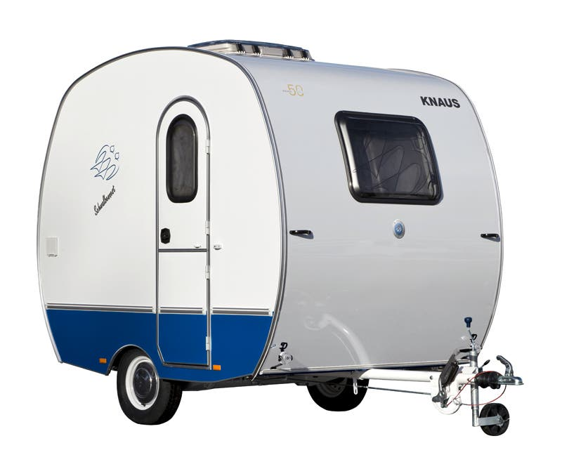 Knaus schwalbennest for 12 foot travel trailer floor plans