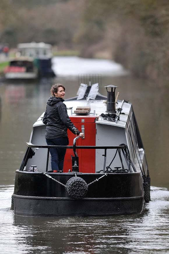 Boat Living : Dominique's Narrow Boat