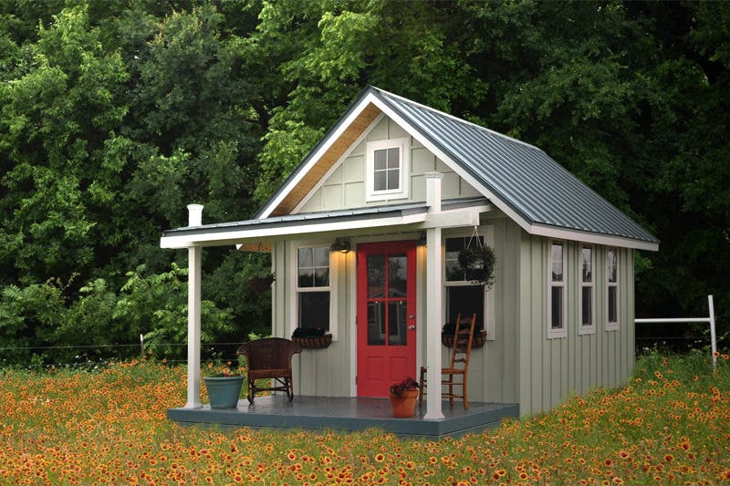 kanga studio country cottage wildflowers front Tiny House Blog