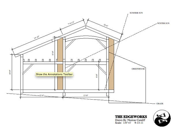 Small Timber Frame House Plans And Workshop - Timber frame homes plans
