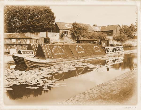 historical narrowboat