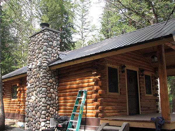 Wyoming cabin