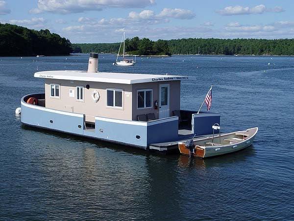 Charles Andrew shanty boat