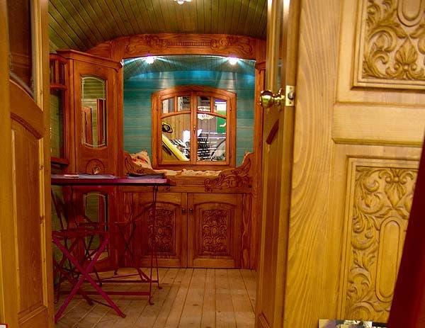 interior Roulotte