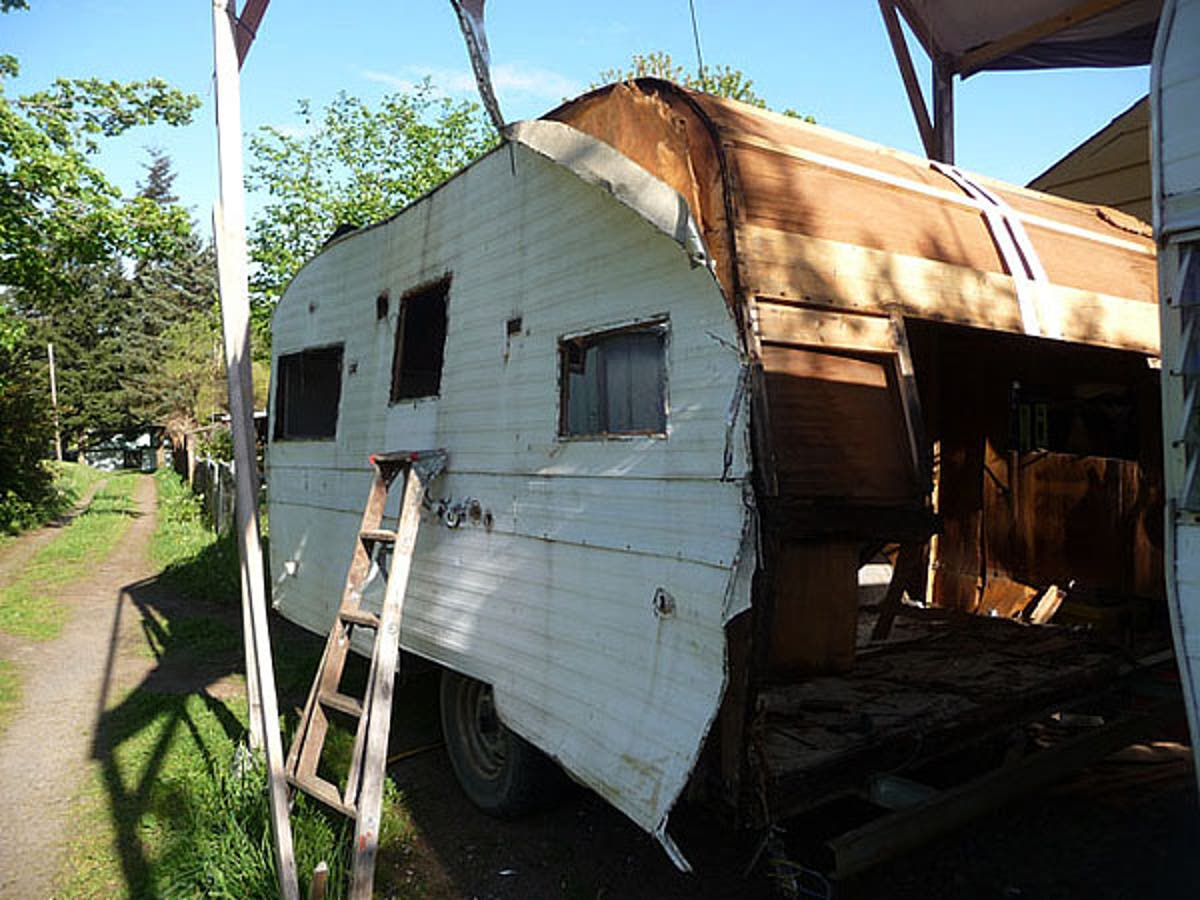 Recycling Old Rv Trailers Tiny House Blog
