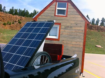 Powering our Tiny House The SolMan Portable Solar Generator