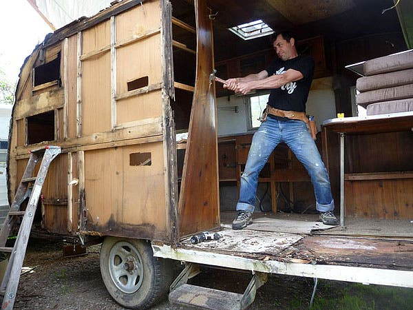 Recycling Old Rv Trailers