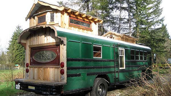 Green Cedar Bus