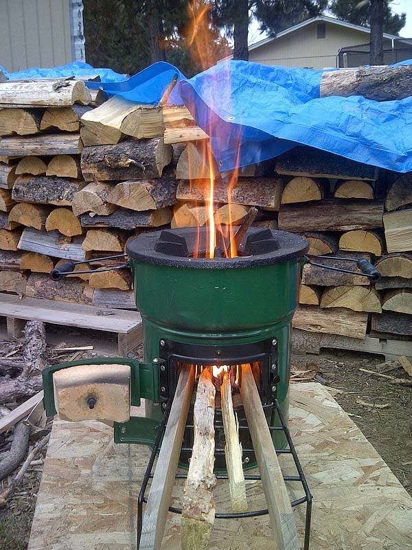 Stovetec fire