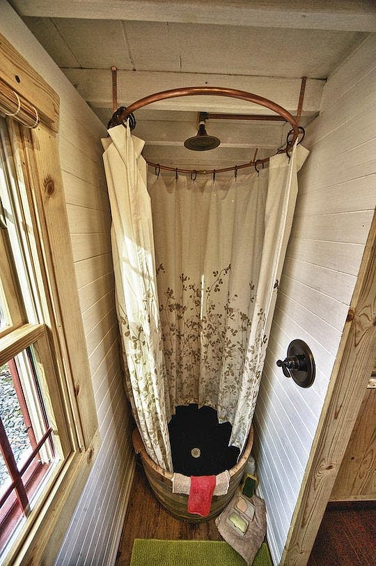 tack house bathroom