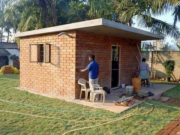 Worldhaus idealab invents super cheap house - Brick houses three beautiful economical projects ...