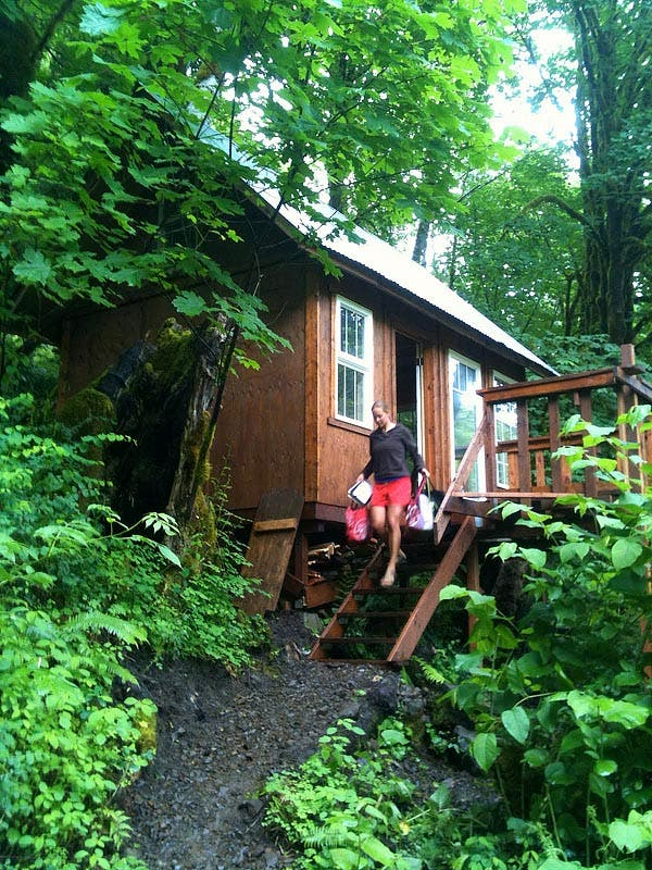 Im Selling my Tiny Cabin on a River in Oregon