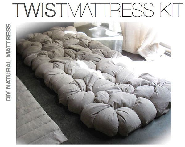 Make Your Own Organic Buckwheat Hull Mattresses